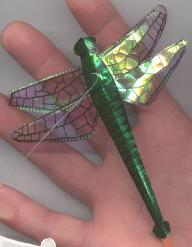 Green Miniature Dragonfly Kite by Tom Tinney